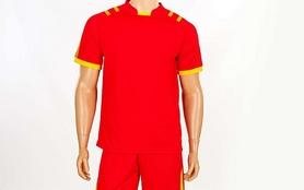 Фото 2 к товару Форма футбольная (шорты, футболка) Soccer Chic CO-1608-R красная
