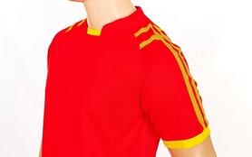 Фото 3 к товару Форма футбольная (шорты, футболка) Soccer Chic CO-1608-R красная