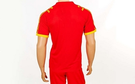 Фото 5 к товару Форма футбольная (шорты, футболка) Soccer Chic CO-1608-R красная
