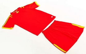 Фото 7 к товару Форма футбольная (шорты, футболка) Soccer Chic CO-1608-R красная