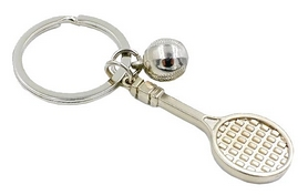 Брелок Ракетка для большого тенниса Atribute FB-5602