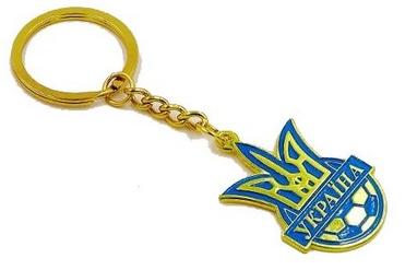 Распродажа*! Брелок Футбол Украина FB-5597