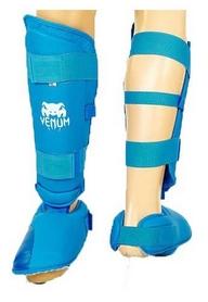 Защита голени с футами для единоборств PU Venum MA-5857-B