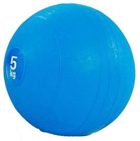 Мяч медицинский (слембол) Pro Supra Slam Ball FI-5165-5 5 кг синий