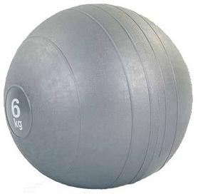 Мяч медицинский (слембол) Pro Supra Slam Ball FI-5165-6 6 кг серый