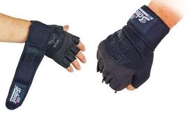 Перчатки для пауэрлифтинга Schlek BC-4928-BK - Фото №2