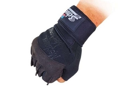 Перчатки для пауэрлифтинга Schlek BC-4928-BK - Фото №3