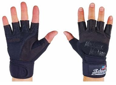 Перчатки для пауэрлифтинга Schlek BC-4928-BK
