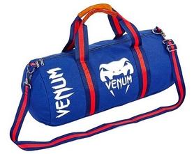 Сумка для спортзала Бочонок Venum GA-0521-BL голубая