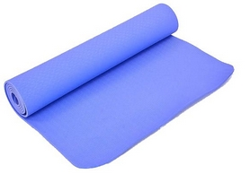 Коврик для йоги (йога-мат) Pro Supra FI-4937-3 6 мм сиреневый