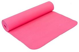 Коврик для йоги (йога-мат) Pro Supra FI-4937-7 6 мм розовый