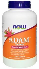 Витамины Now Adam Superior Men's Multi, 120 таблеток