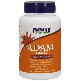 Витамины для мужчин Now Adam Superior Men's Multi, 60 таблеток