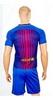 Форма футбольная детская (шорты, футболка) Soccer Barcelona 2018 домашняя CO-3900-BAR-8 синяя - фото 2