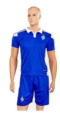 Форма футбольная детская (шорты, футболка) Soccer Динамо Киев 2017 гостевая синяя CO-3900-DN-B синяя