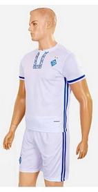 Фото 2 к товару Форма футбольная детская (шорты, футболка) Soccer Динамо Киев 2017 CO-3900-DN1-B белая