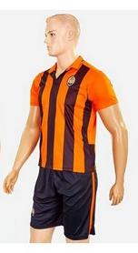 Фото 2 к товару Форма футбольная детская (шорты, футболка) Soccer Шахтер 2017 домашняя CO-3900-SH оранжевая