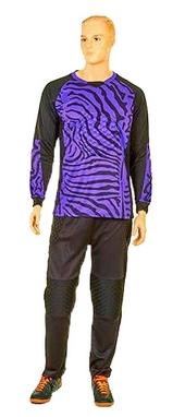 Форма вратарская футбольная Soccer детская CO-0233-V фиолетовая