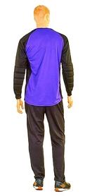 Фото 3 к товару Форма вратарская футбольная Soccer детская CO-0233-V фиолетовая