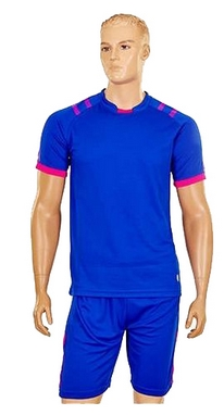 Форма футбольная (шорты, футболка) Soccer Chic CO-1608-B синяя