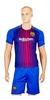 Форма футбольная детская (шорты, футболка) Soccer Barcelona 2018 домашняя CO-3900-BAR-8 синяя - фото 1