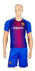 Форма футбольная детская (шорты, футболка) Soccer Barcelona 2018 домашняя CO-3900-BAR-8 синяя