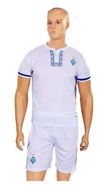 Форма футбольная детская (шорты, футболка) Soccer Динамо Киев 2017 CO-3900-DN1-B белая