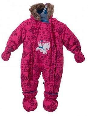 Комбинезон детский для девочек Gusti Boutique 2547 GW красный