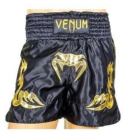 Трусы для тайского бокса Venum Inferno CO-5807-BKG золотистые
