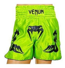Трусы для тайского бокса Venum Inferno CO-5807-G зеленые