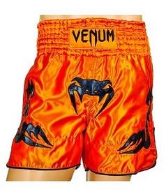 Трусы для тайского бокса Venum Inferno CO-5807-OR оранжевые