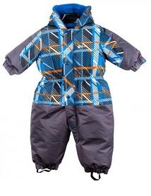 Комбинезон детский для мальчиков Gusti Salve 2594-OR серый