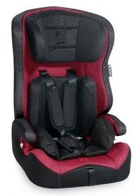Автокресло детское Lorelli Solero Isofix 9-36 кг, красное