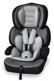 Автокресло детское Lorelli Junior premium 9-36 кг, серое