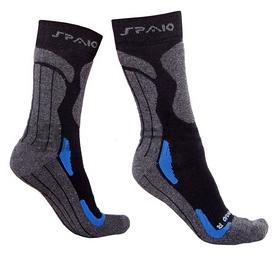 Термоноски Spaio Coolmax синий/черный