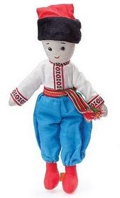 """Кукла Левеня """"Мальчик Остап"""" 37 см"""
