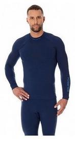 Футболка мужская с длинным рукавом Brubeck Thermo LS13040 синяя
