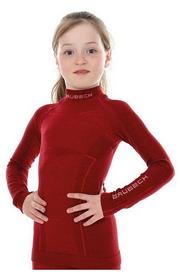 Комплект термобелья детский Brubeck Active Wool LS13690-LS12130 красный