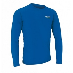 Футболка компрессионная с днинным рукавом Select Compression T-Shirt L/S 6901 синяя