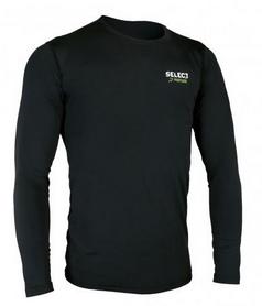 Футболка компрессионная с днинным рукавом Select Compression T-Shirt L/S 6901 черная