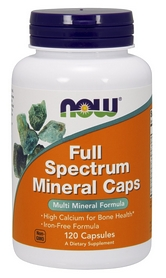 Витамины Now Full Spectrum Mineral Caps, 120 капсул