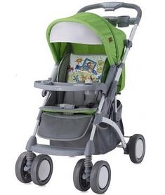 Коляска прогулочная Lorelli Apollo Green&Grey Car зеленая