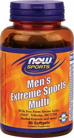 Витамины Now Men's Extreme Sports Multi, 90 капсул