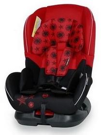 Автокресло детское Lorelli Bertoni Concord Black&Red Stars