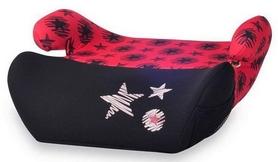 Автокресло детское (бустер) Lorelli Easy Black&Red Stars