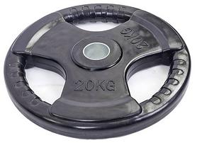 Диск обрезиненный Zlt RA-7706 20 кг d-52 мм