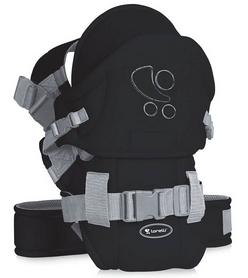 Сумка-кенгуру (переноска) Lorelli Traveller Comfort black