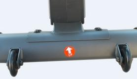 Фото 3 к товару Орбитрек магнитный Evrotop EV-158 H