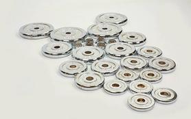 Фото 3 к товару Штанга наборная + гантели хромированные 50 кг
