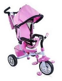 Велосипед трехколесный Lorelli Bertoni B302A, розовый (10050091603)